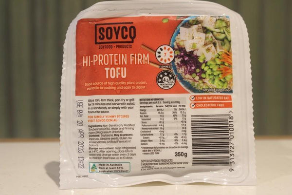 Soyco Hi-Protein FirmTofu 350g Dairy & Eggs > Dairy Alternatives