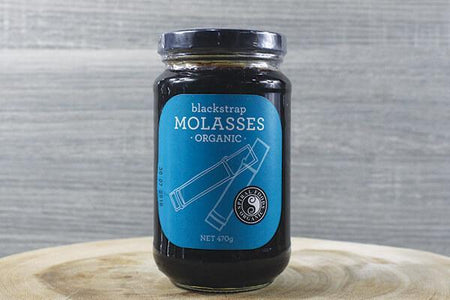 Spiral Black Strap Molasses ORG 470g Pantry > Baking & Cooking Ingredients