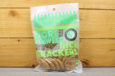 Spiral Crunchy Rice Crackers Nori Seaweed 50g Pantry > Chips & Savoury Snacks