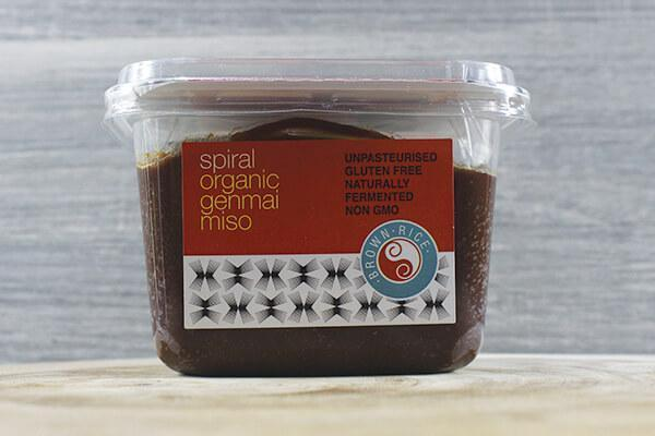 Spiral Miso Genmai ORG 400g Pantry > Broths, Soups & Stocks