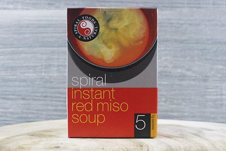 Spiral Miso Instant Red 35g 5 pk Pantry > Broths, Soups & Stocks