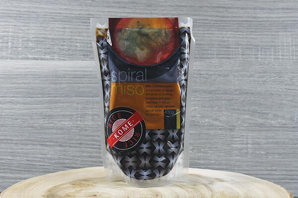 Spiral Miso Kome 400g Pantry > Broths, Soups & Stocks
