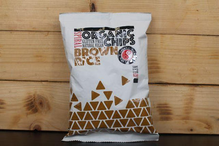 Spiral Org Brown Rice Chips 65g Pantry > Cookies, Chips & Snacks