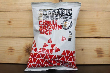 Spiral Org Chilli Brown Rice Chips 65g Pantry > Cookies, Chips & Snacks