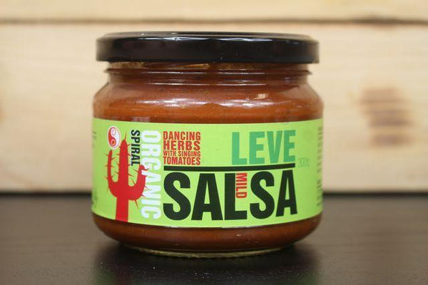 Spiral Org Leve Salsa Mild 300g Pantry > Condiments