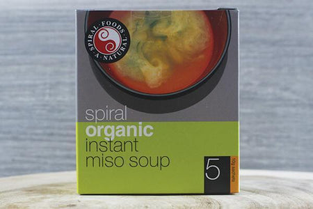 Spiral Org Miso Instant Box 12x5x10g Pantry > Broths, Soups & Stocks