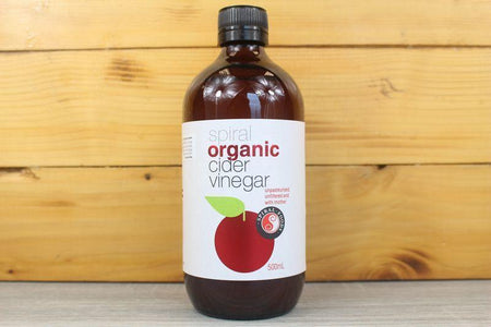 Spiral Organic Apple Cider Vinegar 500ml Pantry > Dressings, Oils & Vinegars