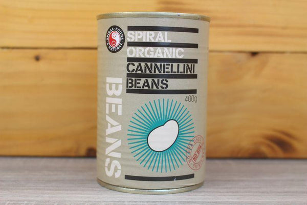 Spiral Organic Cannellini White Kidney Beans 400g Pantry > Canned Goods