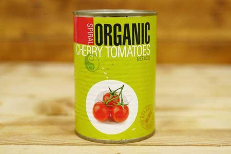 Spiral Organic Cherry Tomatoes 400g Pantry > Canned Goods