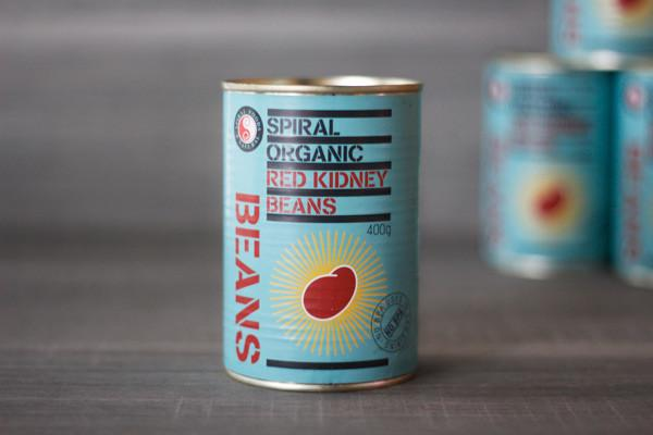 Spiral Organic Kidney Beans 425g Pantry > Canned Goods