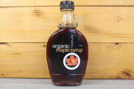 Spiral Organic Maple Syrup 250ml Pantry > Baking & Cooking Ingredients