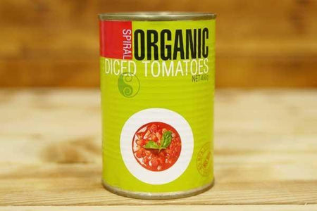 Spiral Spiral Organic Diced Tomatoes 400g Pantry > Canned Goods