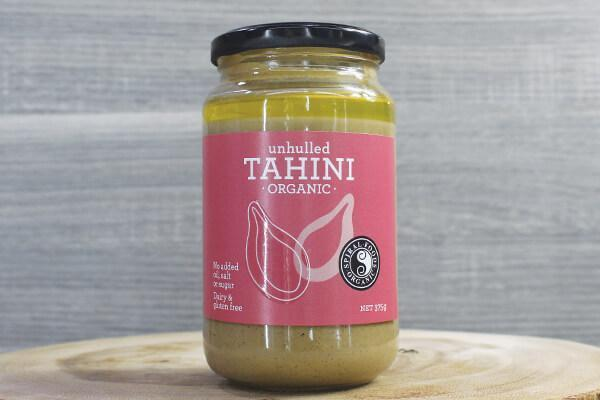 Spiral Tahini - Unhulled Org 375g Pantry > Condiments