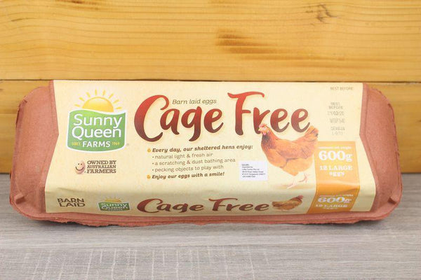 Sunny Queen Cage Free Eggs 600g Dairy & Eggs > Eggs