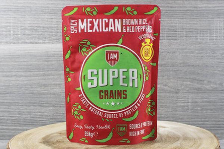 Supergrains Supergrains Mexican Rice Pepper 250g To Go > Ready to eat