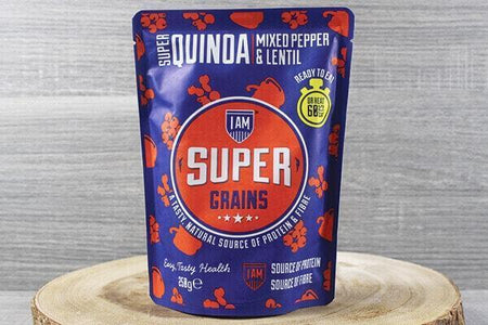 Supergrains Supergrains Quinoa Peppers & Lentil 250g To Go > Ready to eat
