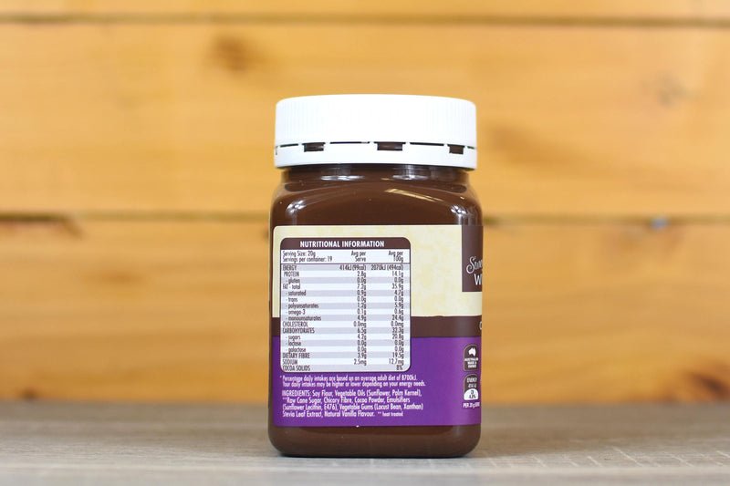 Sweet William Chocolate Spread 385g Pantry > Nut Butters, Honey & Jam