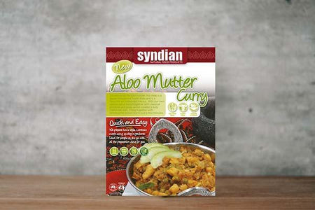 Syndian Aloo Mutter 400g Freezer > Meat Alternatives