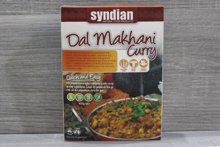 Syndian Dal Makhani 400g Freezer > Meat Alternatives