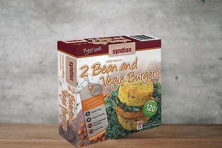 Syndian Lighter 2 Bean & Veg 4x100g Freezer > Meat Alternatives