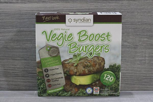 Syndian Lighter Veg Boost 4x100g Freezer > Meat Alternatives