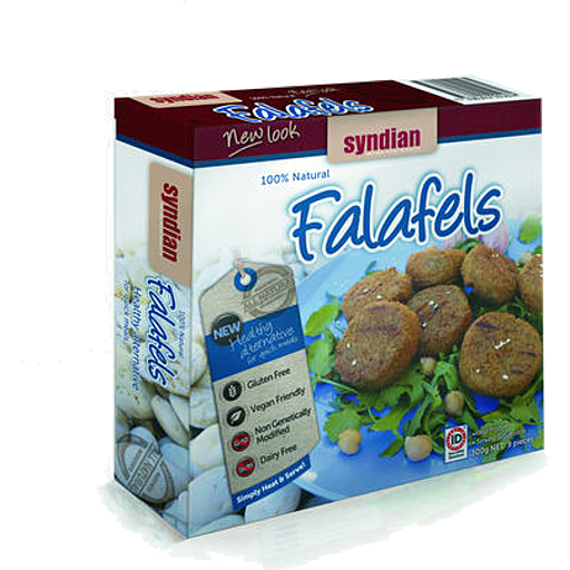 Syndian Natural Food Products Original Falafel Patties 300g Freezer > Meat Alternatives