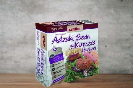 Syndian Original Adzuki & Kumara Burgers 4x85g Freezer > Meat Alternatives