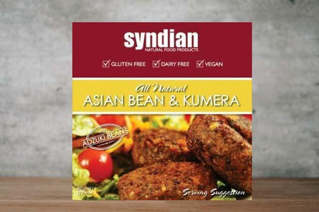 Syndian Original Asian Bean & Kumera Patties 300g Freezer > Meat Alternatives