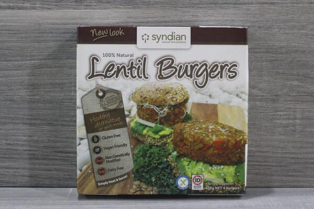 Syndian Original Lentil Burgers Freezer > Meat Alternatives