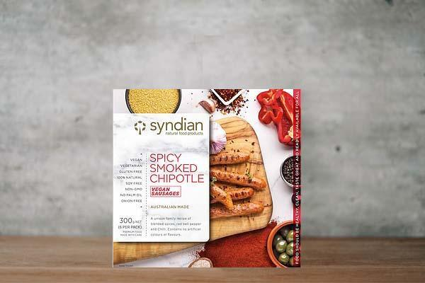 Syndian Smokey Chipotle Sausages 300g Freezer > Meat Alternatives