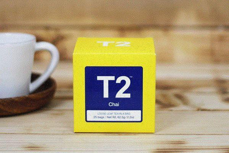 T2 Chai Tea Bag 25pk Drinks > Coffee & Tea