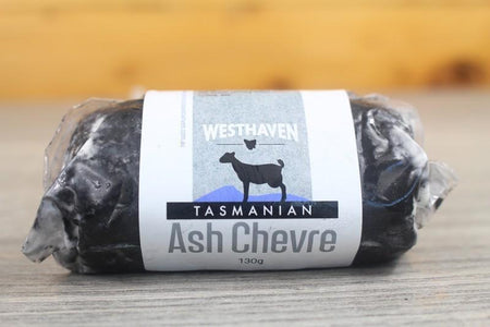 Tasmania's Westhaven Goat Milk Ashed Chevre Cheese 130g Dairy & Eggs > Cheese