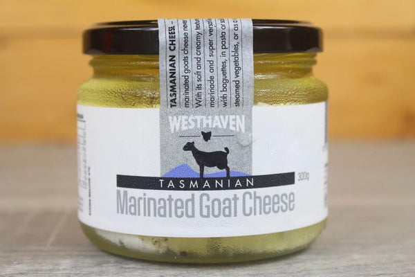 Tasmania's Westhaven Goat Milk Marinated Fetta Cheese 300g Dairy & Eggs > Cheese