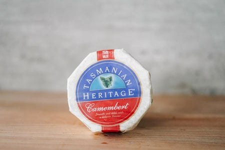 Tasmanian Heritage Camembert Cheese 250g Dairy & Eggs > Cheese