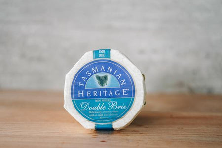 Tasmanian Heritage Double Brie Cheese 250g Dairy & Eggs > Cheese
