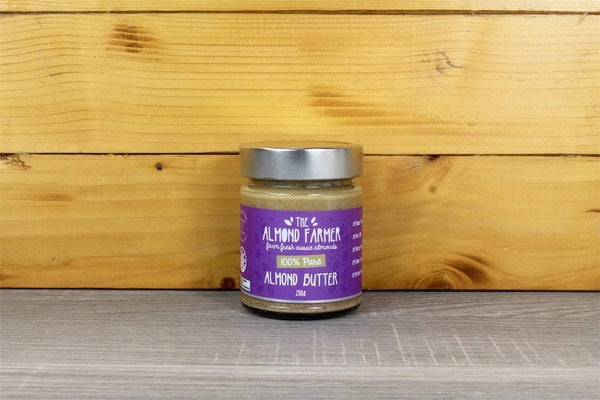 The Almond Farmer Almond Butter 100% Pure 250g Pantry > Nut Butters, Honey & Jam