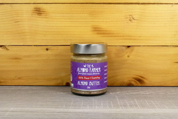 The Almond Farmer Almond Butter 100% Pure & Crunchy 250g Pantry > Nut Butters, Honey & Jam