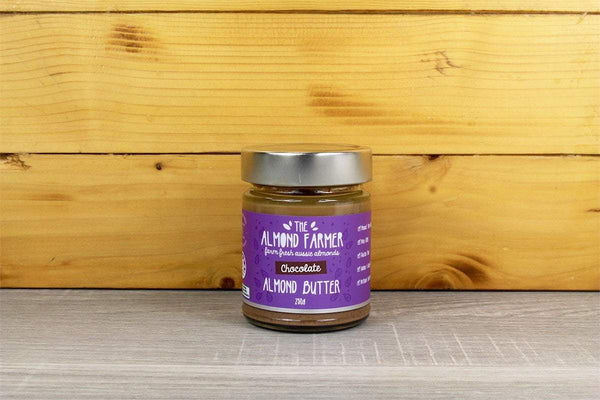 The Almond Farmer Almond Butter with Chocolate 250g Pantry > Nut Butters, Honey & Jam