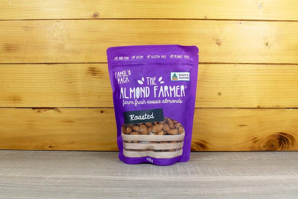 The Almond Farmer Roasted Almonds 400g Pantry > Dried Fruit & Nuts