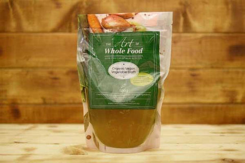 The Art of Whole Food Organic Vegan Vegetable Broth 500g Pantry > Broths, Soups & Stocks