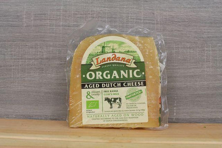 The Cheese Shop Landana Organic Old Gouda 180g Dairy & Eggs > Cheese
