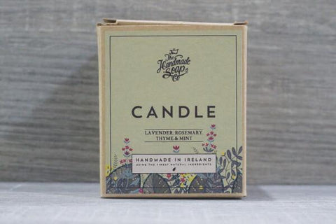 The Hand Made Soap Candle Lavender, Rosemary & Mint 300ml Household > Air Fresheners & Candles