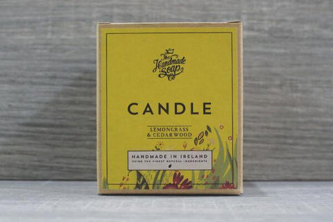 The Hand Made Soap Candle Lemongrass & Cedarwood 180g Household > Air Fresheners & Candles