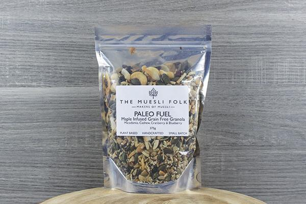 The Muesli Folk Paleo Fuel 375g Pantry > Granola, Cereal, Oats & Bars