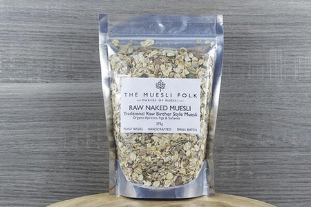 The Muesli Folk Paleo Fuel Raw 375g Pantry > Granola, Cereal, Oats & Bars