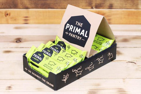The Primal Pantry Apple & Pecan Raw Paleo Bar 18 x 45g Box UFIT