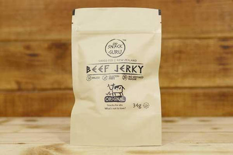 Beef Jerky Honey Ginger 34g