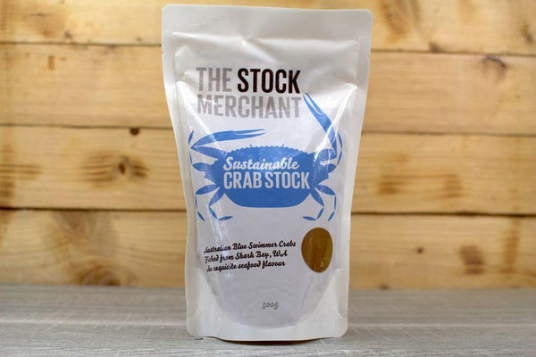 The Stock Merchant Sustainable Crab Stock 500g Pantry > Broths, Soups & Stocks