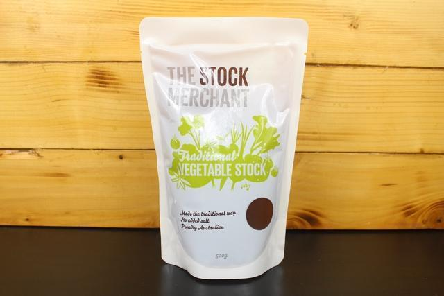 The Stock Merchant Traditional Vegetable Stock 500g Pantry > Broths, Soups & Stocks