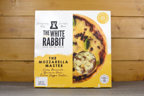 The White Rabbit The Mozzarella Master Pizza 372g Freezer > Ready-Made Meals